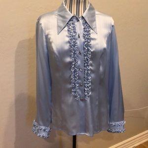 100% silk ESCADA blouse in mint condition